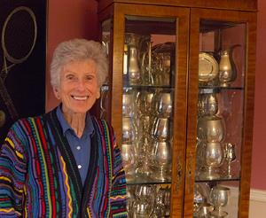 "Professor Emerita ""Goldie"" Edwards and Her Journey from New Zealand to Pitt to the Squash Hall of Fame"
